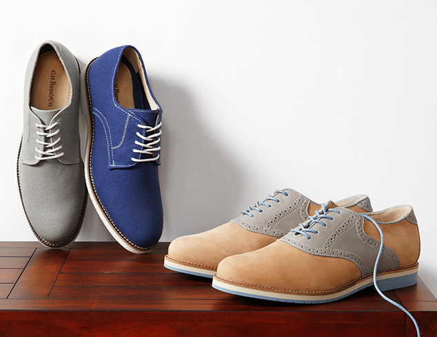 Casual Oxfords feat. G. H. Bass at MYHABIT