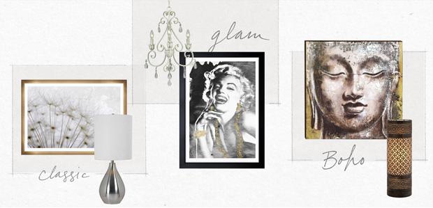 Choose Your Decor Style: Classic, Glam, or Boho at Rue La La