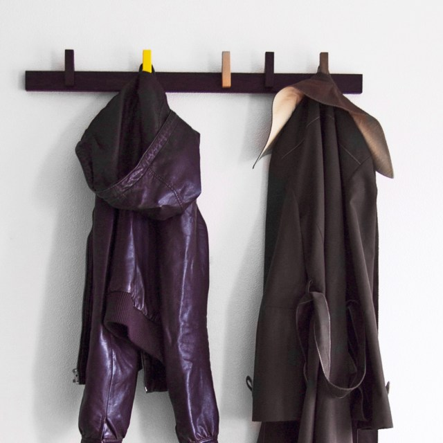 Agustav Coat Rack in Wenge