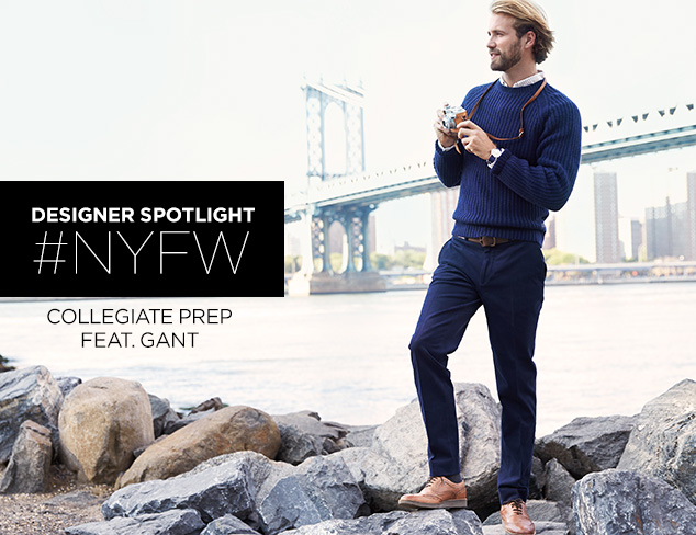 Collegiate Prep feat. GANT at MYHABIT