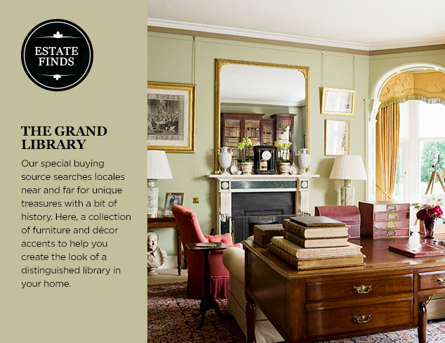 Estate Finds: The Grand Library at MYHABIT
