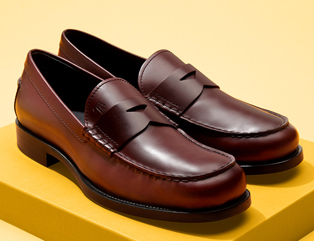 European Designer Shoes feat. Tod's at MYHABIT