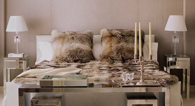 Everyday Glam: Bedroom at Gilt