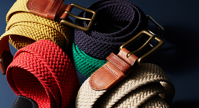 Fall Belts Feat. Millburn Co. at Gilt