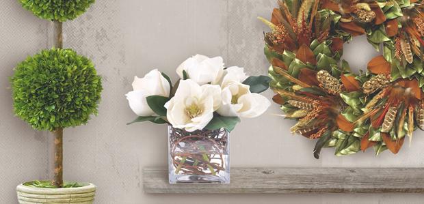 Fall Blooms: Faux Florals & Wreaths at Rue La La