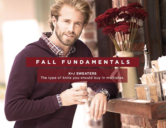 Fall Fundamentals: K+J Sweaters at MYHABIT