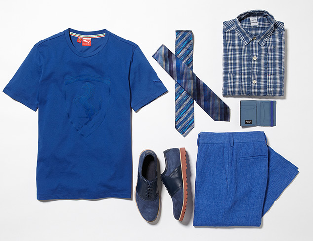 Fall Hues: Royal Blue at MYHABIT