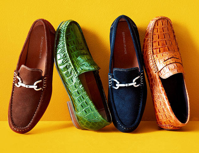 Fall Refresh: Loafers feat. Donald J Pliner at MYHABIT