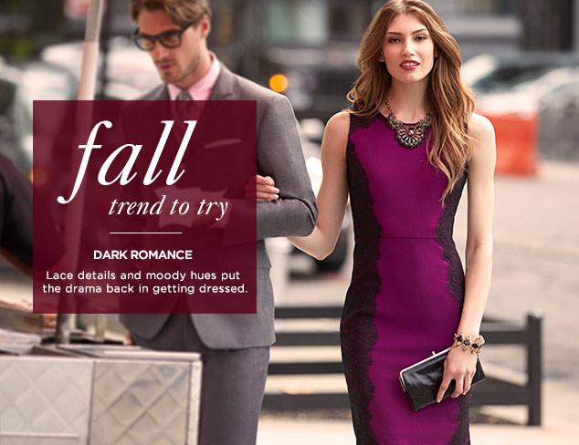 Fall Trend to Try: Dark Romance at MYHABIT