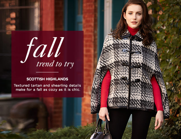 Fall Trend to Try: Scottish Highlands at MYHABIT