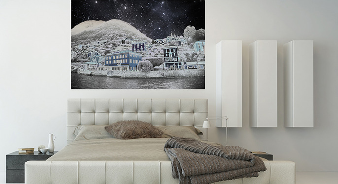 Fluorescent Palace: Removeable Wall Decals at Gilt