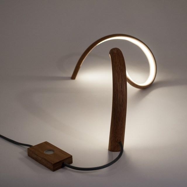 John Procario Freeform V Table Lamp