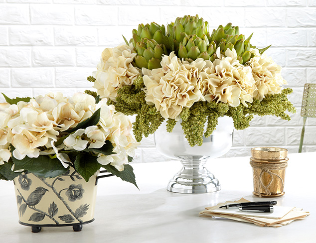 Go Greenery: Faux Florals, Planters & More at MYHABIT