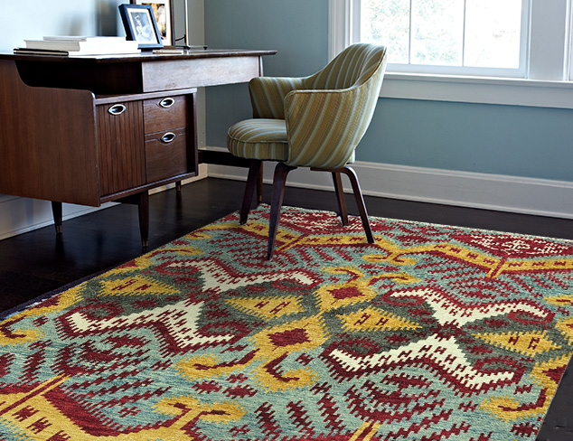 Hand-Woven Rugs at MYHABIT