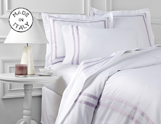 Made In Italy: Errebicasa Fall Bedding at MYHABIT