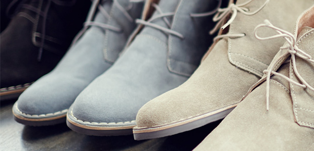 Men's Chukkas & Boots: Dress Up or Down at Rue La La