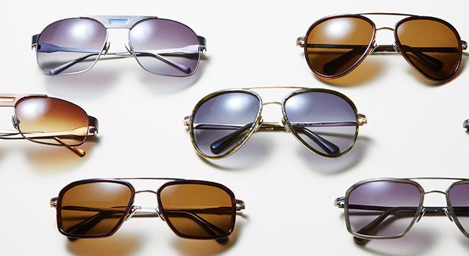 Morgenthal Frederics Sunglasses at Gilt