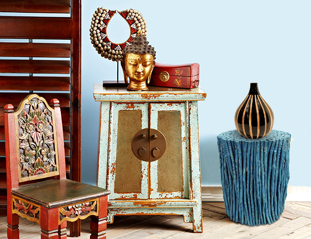 Multi Cultural: Furniture, Lighting & Décor at MYHABIT