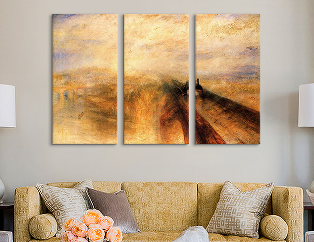 Multi-Piece Master Works: Triptychs at MYHABIT
