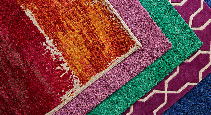 Pantone Rugs at Gilt