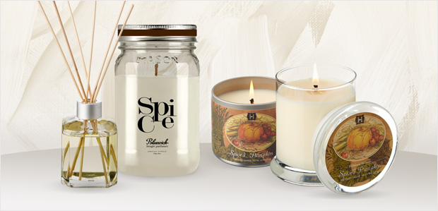 Scented Candles for Fall: Acorn, Nutmeg, & More at Rue La La