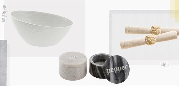 Set the Table in Neutrals: Napkins to Glassware at Rue La La