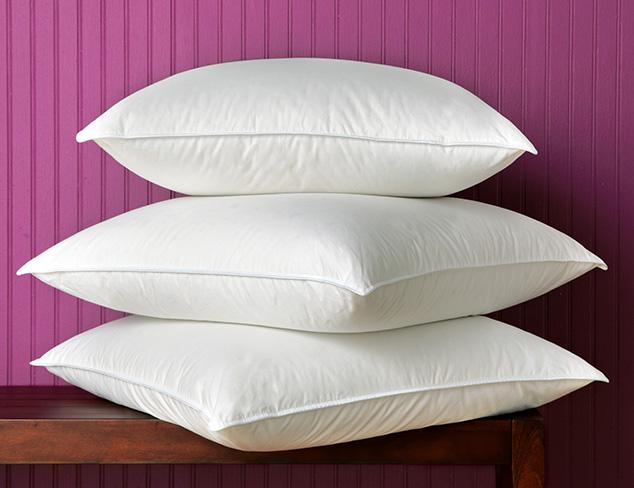Sleep Softly: Down Pillows at MYHABIT