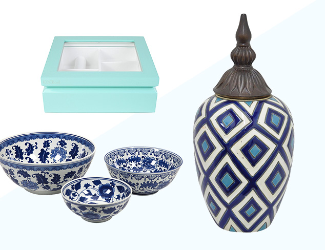 Something Blue: Décor Accents at MYHABIT