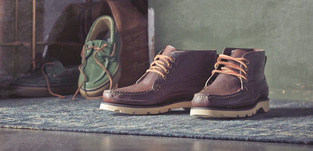 "Sperry Top-Sider ""Boat"" Leather Chukka Boot"