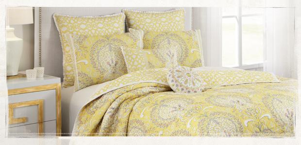 Sunday Sleep-In: Vibrant Bed & Bath Essentials at Rue La La