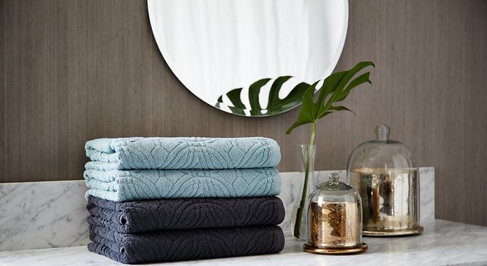 Textured Towels at Gilt