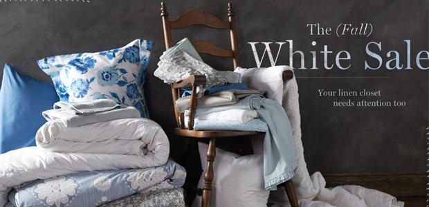 The (Fall) White Sale at Rue La La