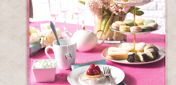The Ladylike Tea Party: Surprisingly Simple at Rue La La