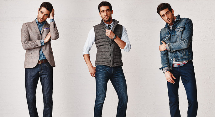 The Men's Health Denim Shop at Gilt