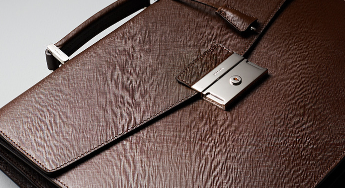 The Perfect Briefcase at Gilt