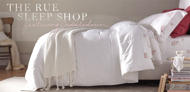 The Rue Sleep Shop Featuring Cuddledown at Rue La La