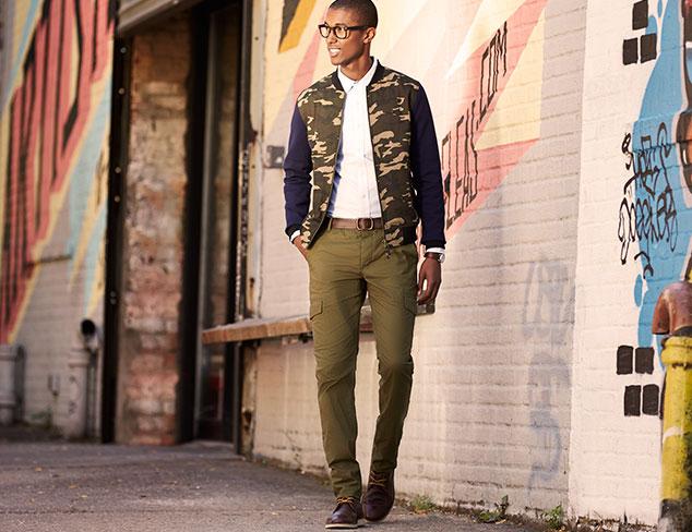 Tovar Bailey Contrast Sleeves Jacket
