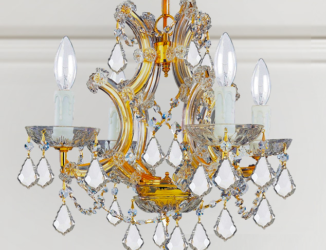 Traditional Lighting: Chandeliers & Sconces at MYHABIT