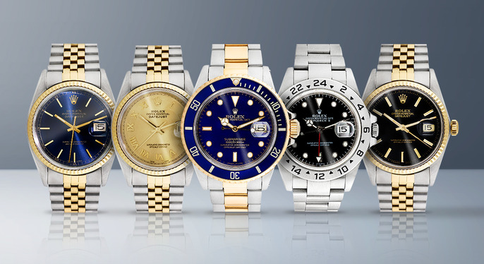 Vintage Rolex Watches at Gilt