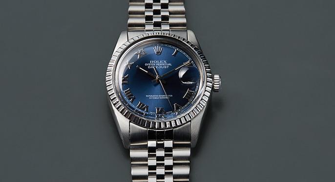 Vintage Watches: Rolex Datejust at Gilt