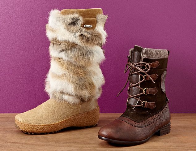 Weather Ready: Rainboots, Shearling & More at MYHABIT