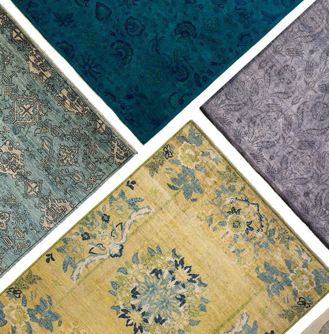 Worldly Inspiration: One-of-a-Kind Rugs at Gilt