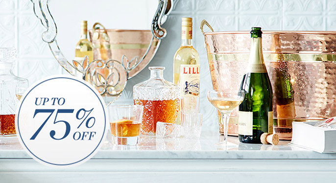 Barware Blowout: Up to 75% Off at Gilt