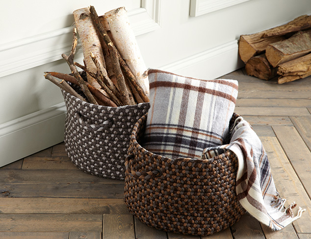 Baskets & Bins: Rattan, Wire & More at MYHABIT