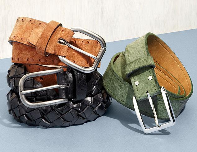 Best Belts: Bolliver & More at MYHABIT