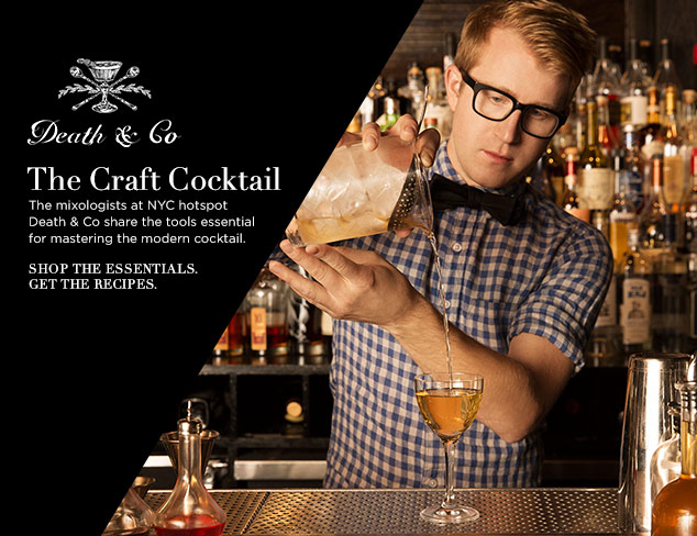 Death & Co Presents the Craft Cocktail at MYHABIT