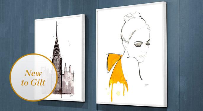 Jessica Durrant Art at Gilt