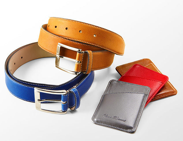 Leone Braconi Belts & Wallets at MYHABIT