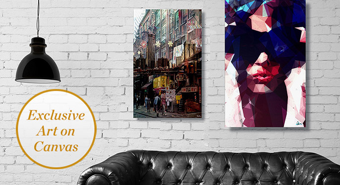 New to Gilt: Canvas Art by Curioos at Gilt