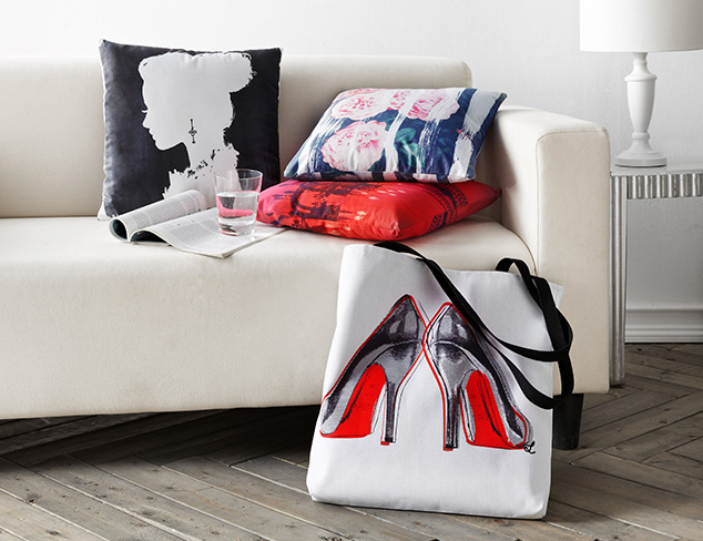 Oliver Gal Totes & Pillows at MYHABIT